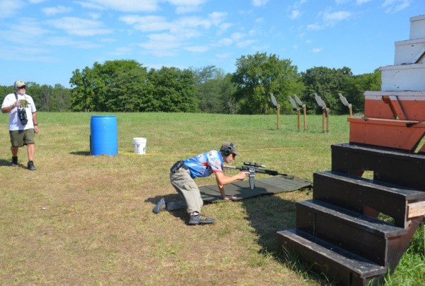 Tim Yackley - stage 5 - Rifle Laying Down