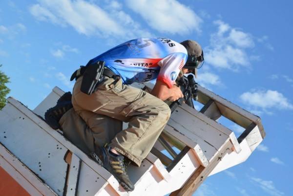 Tim Yackley - stage 5 - Rifle Stairway